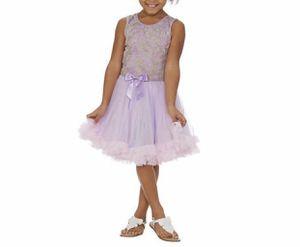 Popatu Ruffle Dress, Purple, 2T/3T for Sale in Malverne, NY