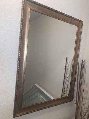 Elegant Wall mirror - Gold bronze for Sale in Orlando, FL