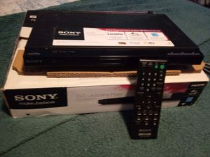 Sony DVD player brand new for Sale in Cumming, GA
