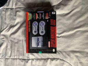 Super Nintendo classic for Sale in Moreno Valley, CA