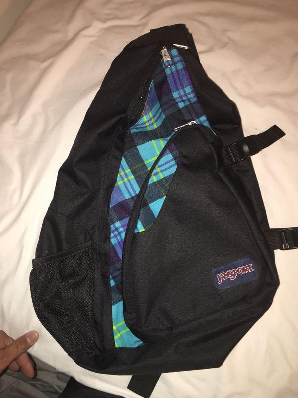 Jansport single strap backpack