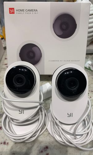 Yi Home Security Cameras / Baby Monitor for Sale in Falls Church, VA