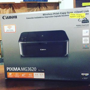 Canon Pixma MG 3620 Printer for Sale in Bellingham, MA