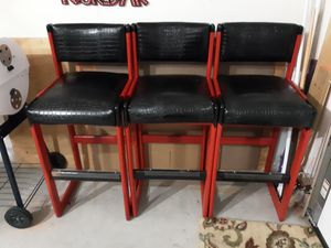 Bar stools strong sturdy for Sale in McHenry, IL