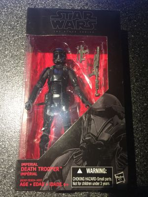 Rogue one a star wars story 6 inch black series figure collection for Sale in Queens, NY