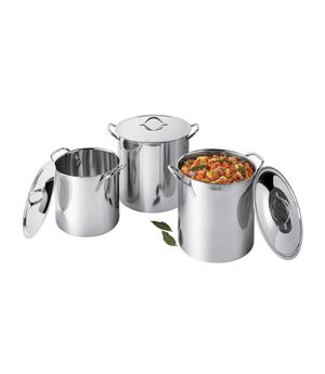 Cooks Stainless Steel 3 Pack Stockpot for Sale in Torrance, CA