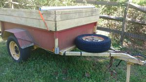 Bed 6'x 4' utility trailer. 11' ball to back. for Sale in Cumming, GA