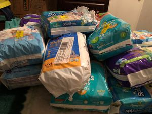 Baby diapers for Sale in Dallas, TX