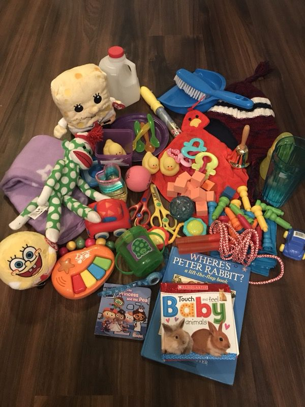 Assorted baby and child toys