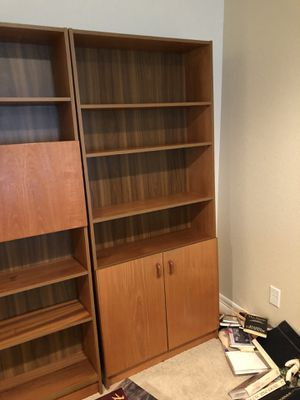 Four wood shelves for Sale in Colorado Springs, CO