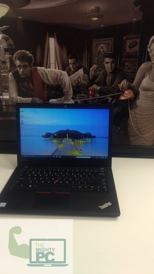 Lenovo Thinkpad T470. It has 16 gig ram DDR4 256gb SSD. 14-inch ultrabook, Windows 10. reliable business grade computers. for Sale in Gilbert, AZ