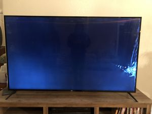 Damaged 65 inch flat screen TV for Sale in North Las Vegas, NV