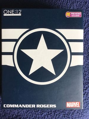 Mezco Captain America Commander Rogers Stealth Suit Version NEW for Sale in Long Beach, CA