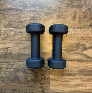 Pair of 5 lb. Dumbbell Weights (10 lb total) for Sale in McKnight, PA