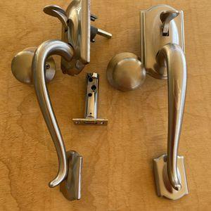 Brushed Nickel Entry Door Handles for Sale in Thousand Oaks, CA