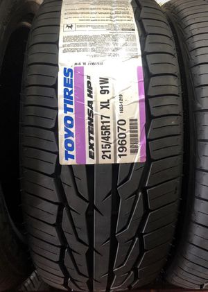 4 new Tires 215/45/17 Toyo Extensa HP2 for Sale in La Puente, CA