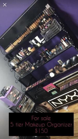 NYX 5 Tier metal makeup organizer. for Sale in Teaneck, NJ