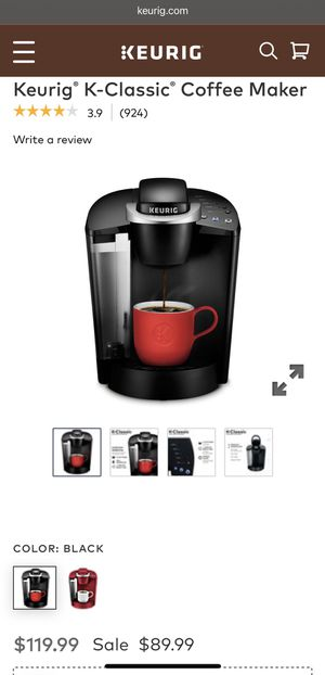 Barely used Keurig Coffee Maker for Sale in Lake Mary, FL