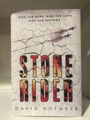 Stone Rider hardcover book by David Hofmeyer motorcycle book for Sale in Phoenix, AZ