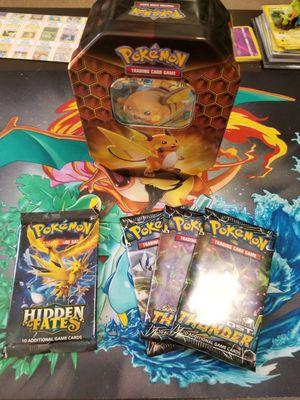 Pokemon card tin for Sale in Smyrna, TN