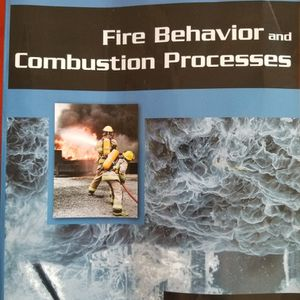 Fire Behavior And Combustion Processes (Paperback) for Sale in Napa, CA