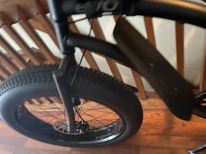"Near New 26"" fat tire/ Evo Mountain bike (Matte Black) 19"" frame for Sale in Columbus, OH"