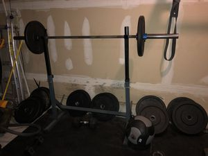 Home gym equipment for Sale in Woodbury, NJ