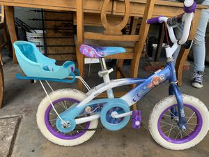 "Frozen 12"" bicycle without training wheels for Sale in Orlando, FL"