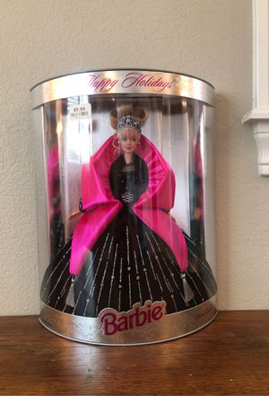 Collectible happy holidays Barbie Christmas Mattel 1998 for Sale in San Bernardino, CA