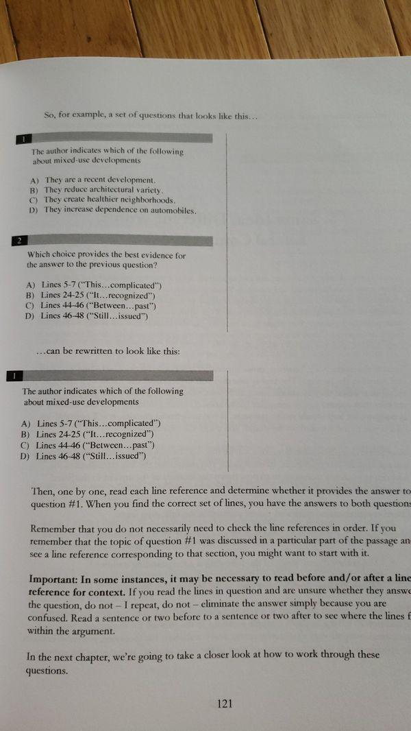New SAT reading