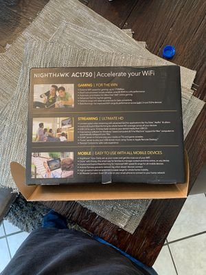 Nighthawk Router - $75 - brand new for Sale in Las Vegas, NV