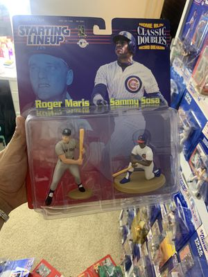 Roger Marie and Sosa action figure for Sale in North Las Vegas, NV