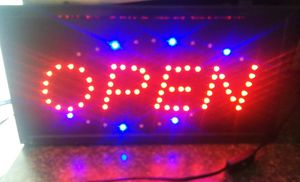 Open Sign with lights for Sale in Milton, WV