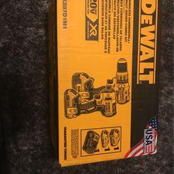 Brand New Dewalt 20vxr 2 Drill Set for Sale in Atlanta,  GA