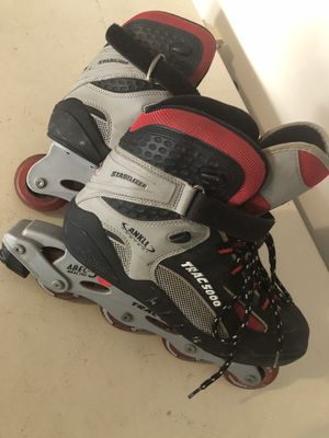Street hockey roller blades for Sale in Ashburn, VA
