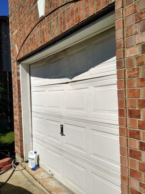 J J garage door for Sale in Houston, TX