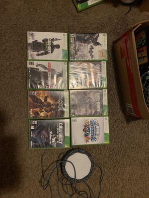 Xbox 360 Games (Read Description) (With Controller) (Negotiable) for Sale in Berenda, CA