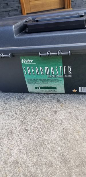 Oyster Shearmaster animal clippers for Sale in Federal Way, WA