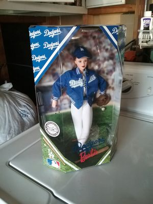 L.A. Dodgers Barbie doll Limited edition for Sale in Paramount, CA