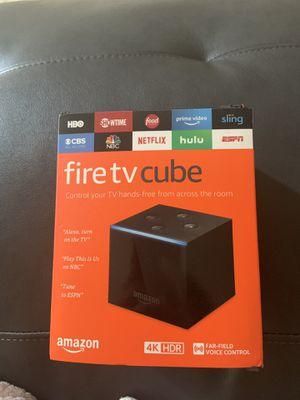 Amazon Fire Tv Cube for Sale in Keystone, FL
