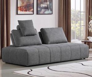 Divani Casa Edgar Modern Grey Fabric Modular Sectional Sofa $299 Brand New Cr Cr for Sale in South Gate,  CA