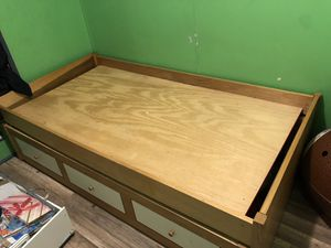 Twin bed with trundle for Sale in Yardley, PA