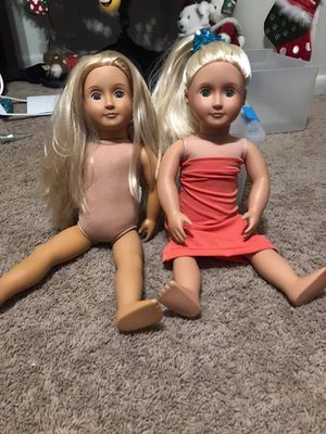 """My Generation/ American Girl 18"""" doll and accessories. for Sale in Virginia Beach, VA"""