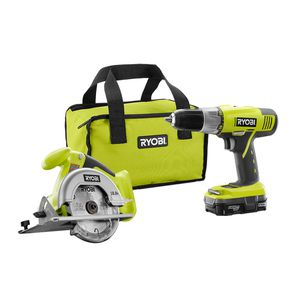 RYOBI 2-TOOL SET DRILL & CIRCULAR SAW + DRILL BIT AND DRIVE SET (NEW) for Sale in Orlando, FL