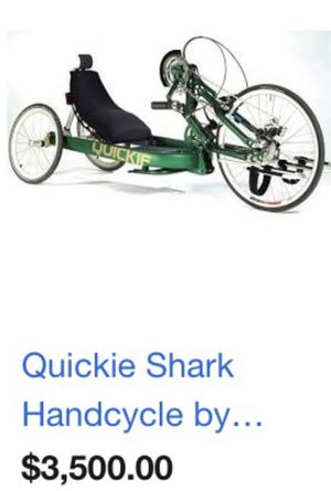 Quickie Shark Handcycle wheelchair Bike for Sale in Washington, DC