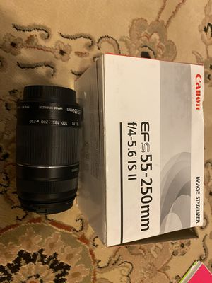 Canon image stabilizer lense for Sale in Boynton Beach, FL