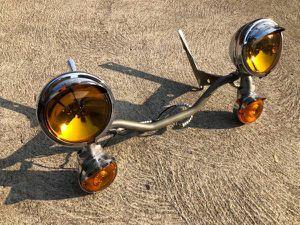 Harley Davidson FLH electra glide original light bar for Sale in Los Angeles, CA