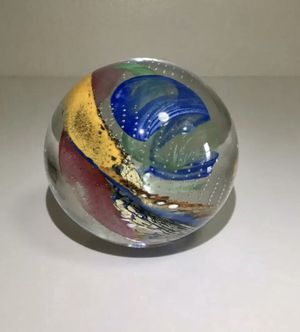 BUZZ WILLIAMS Blown Glass Paperweight, Signed for Sale in Brooklyn, NY