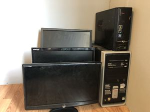 Lot computers and monitors for Sale in Easley, SC