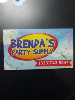 Brenda's Party supply for Sale in Lynwood, CA